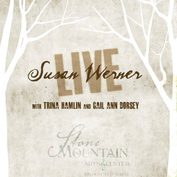 cover of Live at Stone Mountain DVD by Susan Werner